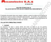 INFORME USO DE COMBUSTIBLE RANCIO rev2Sup_Taller